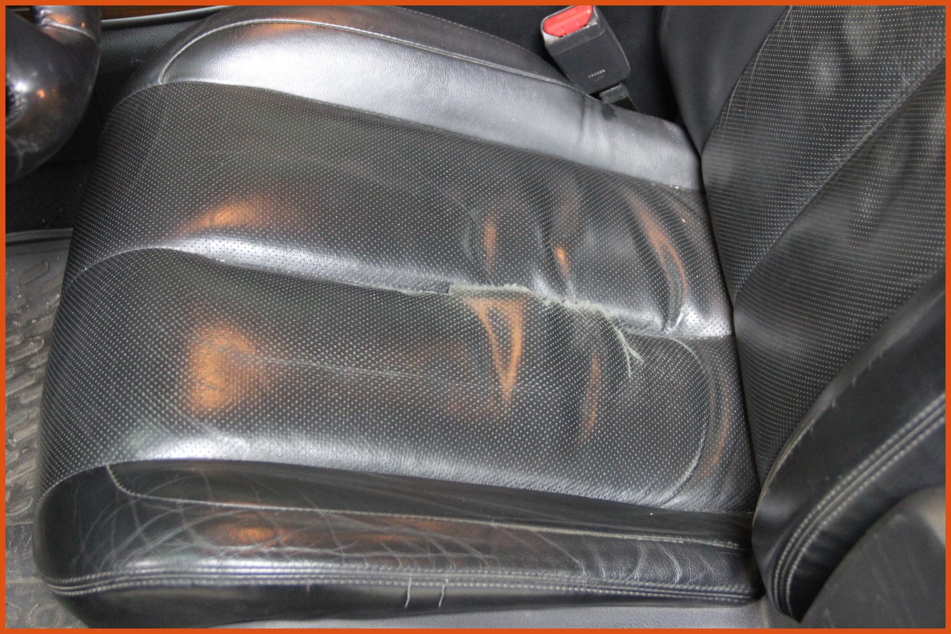 Восстановление кожи в автомобиле