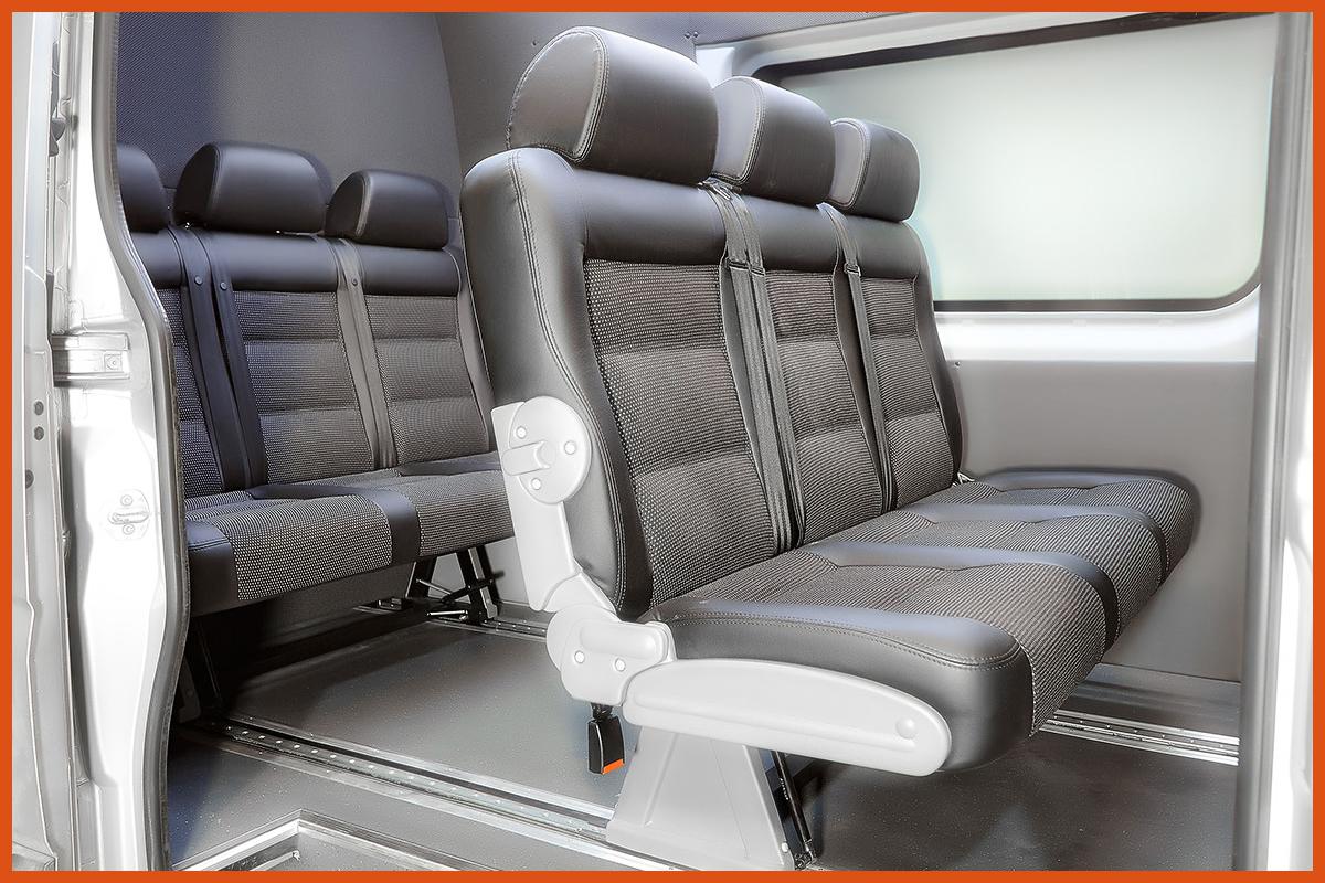 Сиденья трансформеры для микроавтобусов своими руками