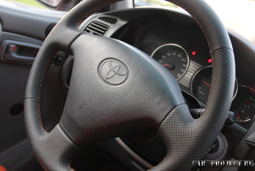 Перетяжка и восстановление салона экпидиционника  Toyota Land Cruiser 105
